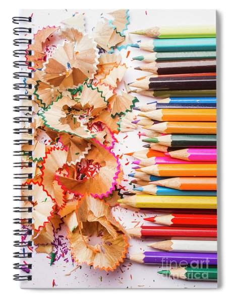 Colourful Leftovers Spiral Notebook
