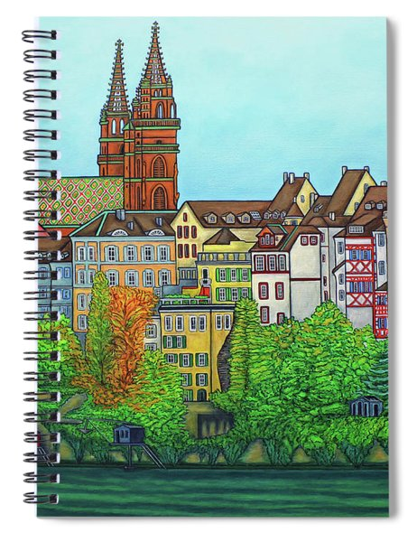 Basel, Colours Of Basel Spiral Notebook