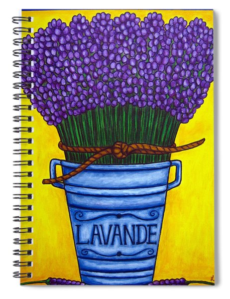 Colours Of Provence Spiral Notebook