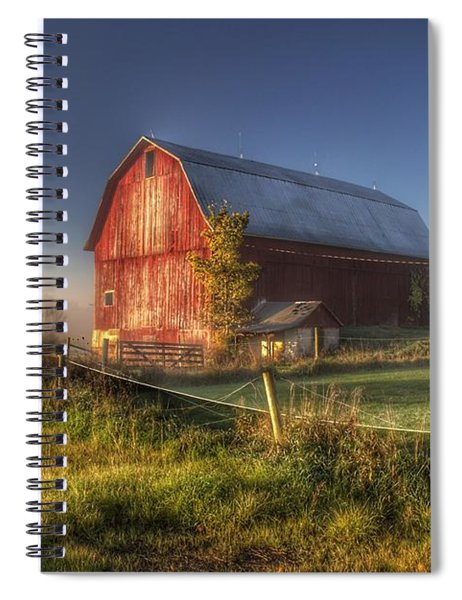 0009 - Columbiaville Red I Spiral Notebook