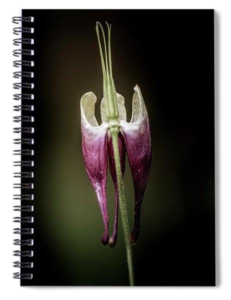Columbine Spiral Notebook
