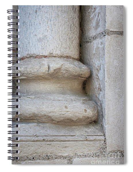 Column Plinth Spiral Notebook