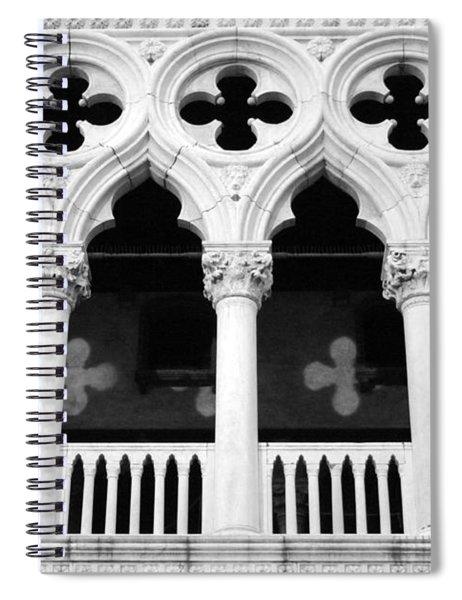 Columns- By Linda Woods Spiral Notebook