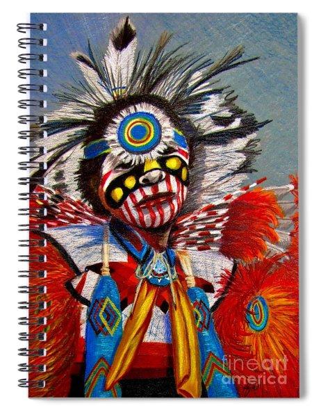 Comanche Dance Spiral Notebook