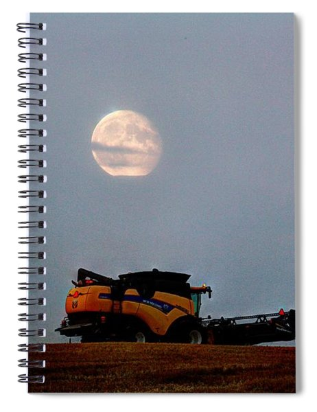 Combine Moon Spiral Notebook