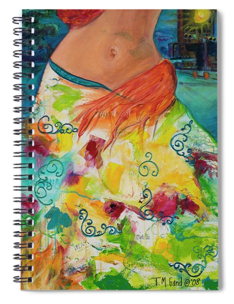 Combustible Spiral Notebook