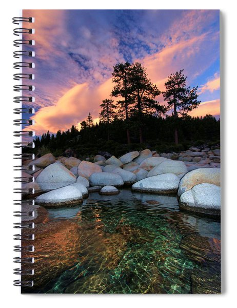 Come Into My World Spiral Notebook