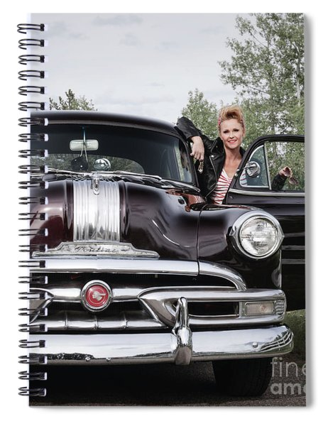 Come On Get In Spiral Notebook
