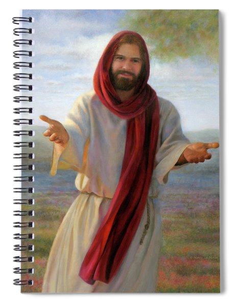 Come Unto Me Spiral Notebook
