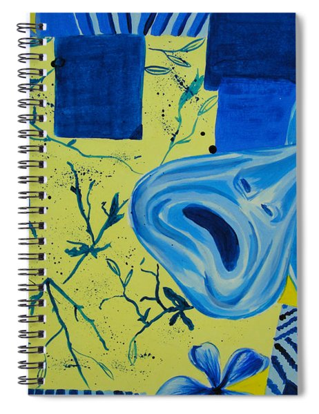Comedy Or Tragedy Spiral Notebook