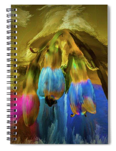 Comfrey Paint #h8 Spiral Notebook