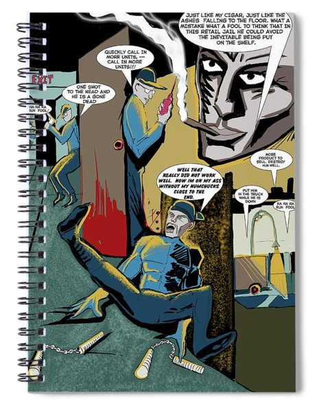 Comic Page1 Spiral Notebook