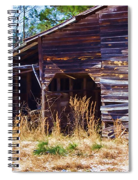 Coming Apart With Character Barn Spiral Notebook