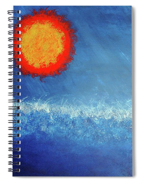 Coming To A Boil Spiral Notebook