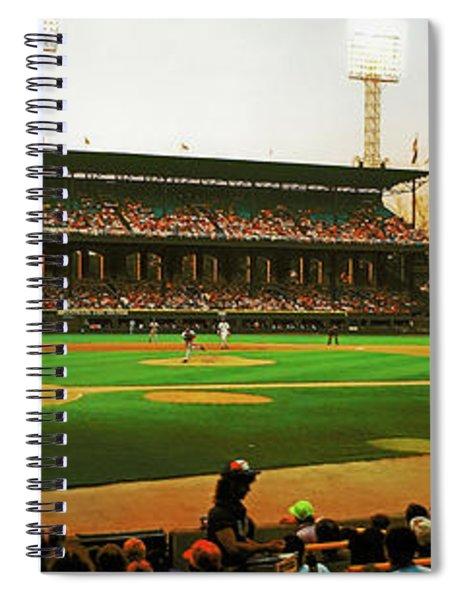 Comiskey Park  Twilight   Spiral Notebook