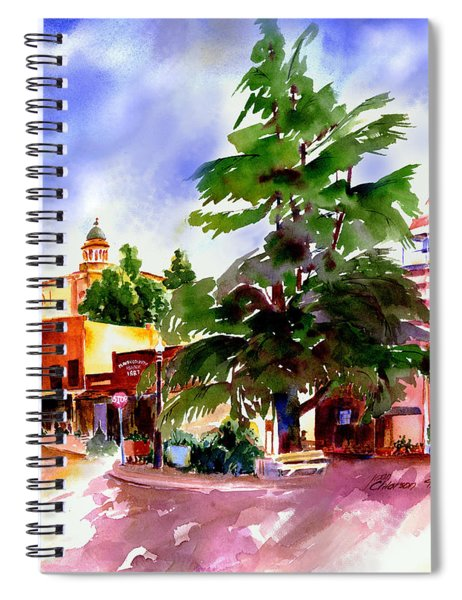 Commercial Street, Old Town Auburn Spiral Notebook