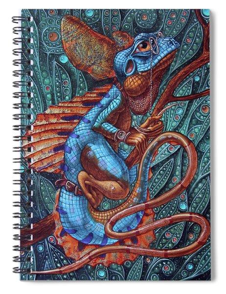 Common Basilisk Spiral Notebook