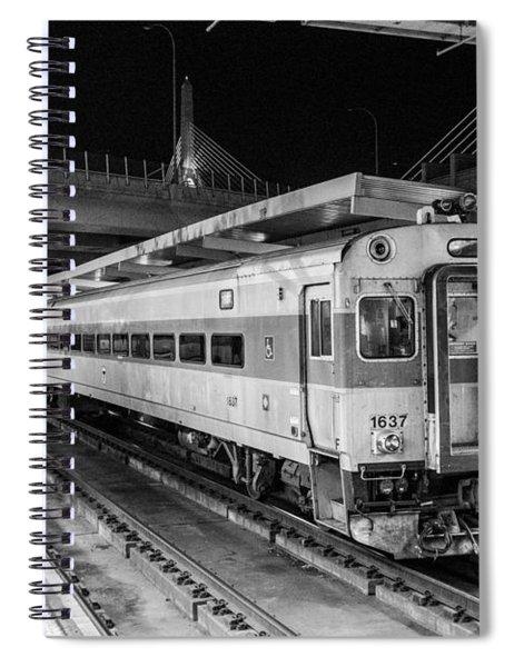 Commuter Rail Spiral Notebook
