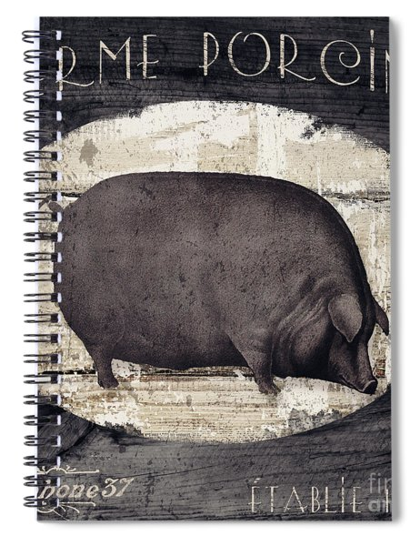 Compagne II Pig Farm Spiral Notebook