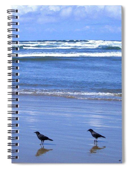 Companion Crows Spiral Notebook