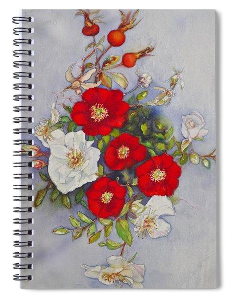 Compass Rose Spiral Notebook