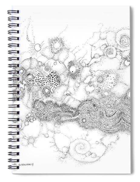 Complex Fluid  Spiral Notebook