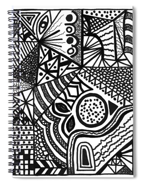 Complex Perception Spiral Notebook