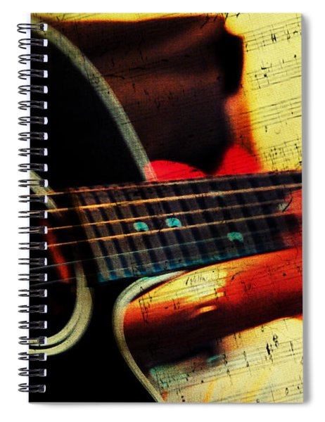 Composing Hallelujah. Music From The Heart  Spiral Notebook