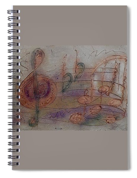 Composition In B Flat Spiral Notebook