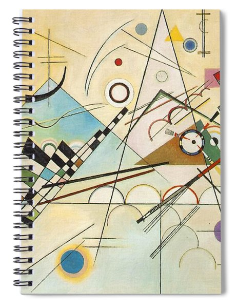Composition Viii Spiral Notebook