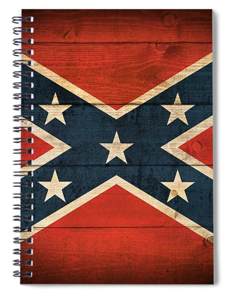 Confederate Flag Spiral Notebook