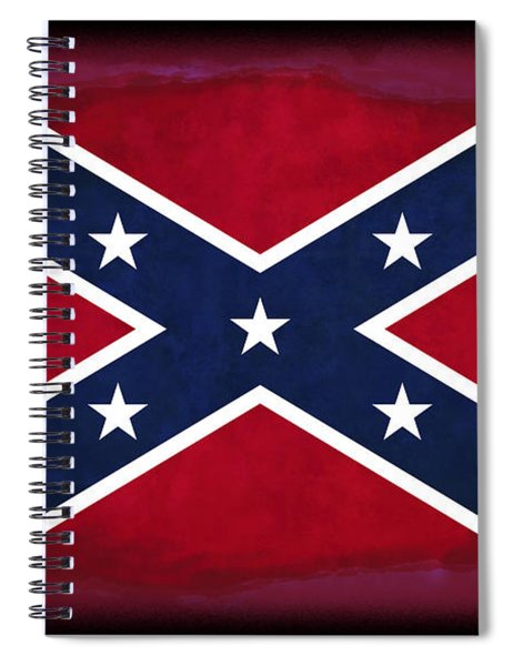Confederate Rebel Battle Flag Spiral Notebook