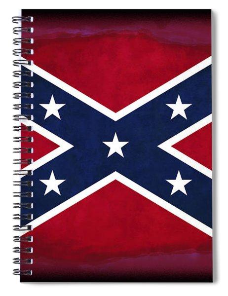 Confederate Rebel Battle Flag Spiral Notebook