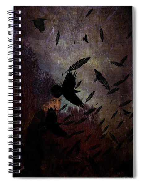 Conflict Of The Crows Spiral Notebook