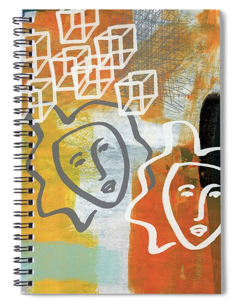 Conflicting Emotions Spiral Notebook