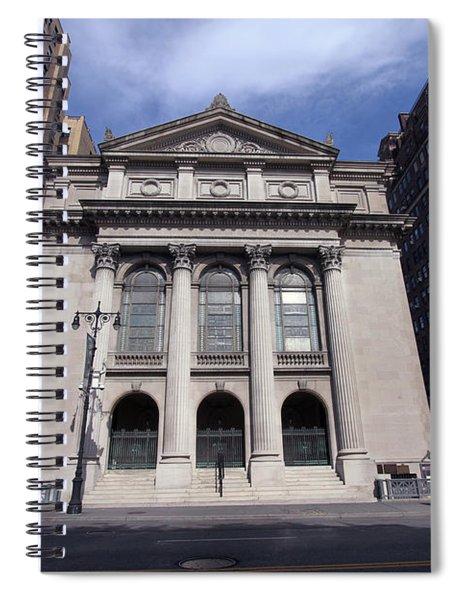 Congregation Of Sheath Israel Spiral Notebook