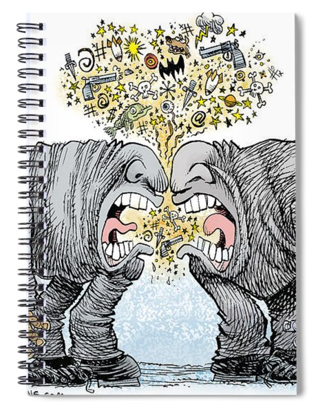 Congress Talking Out Of Their Butts Spiral Notebook