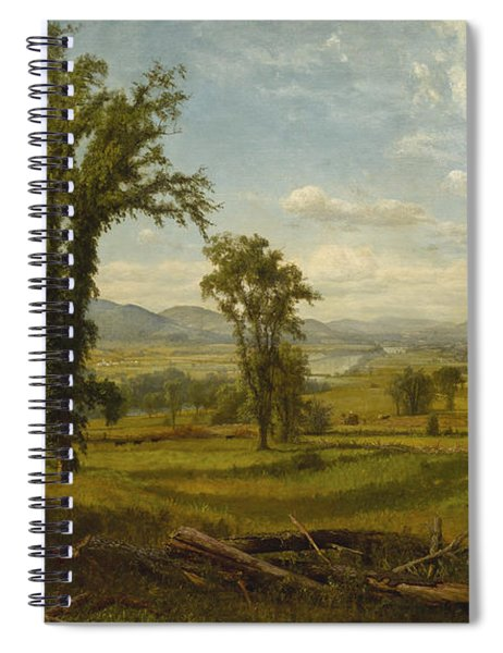 Connecticut River Valley, Claremont, New Hampshire Spiral Notebook