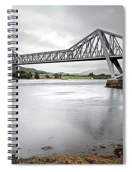 Connel Bridge Spiral Notebook