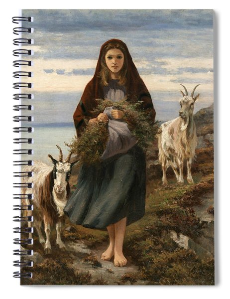 Connemara Girl Spiral Notebook