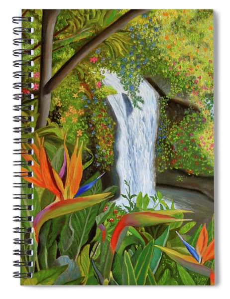Conquest Of Paradise Spiral Notebook