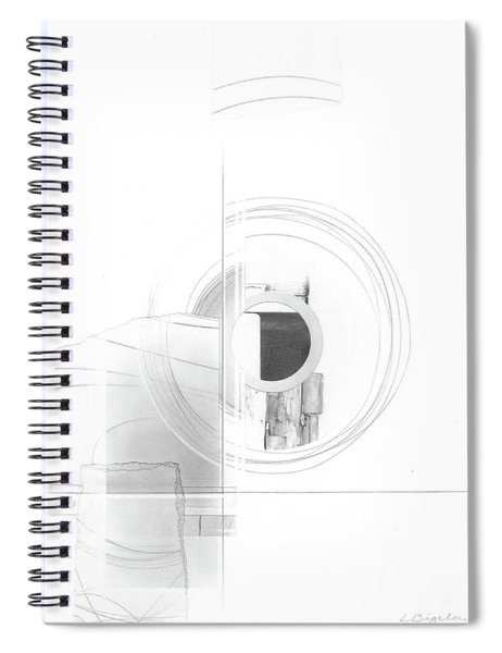 Construction No. 3 Spiral Notebook