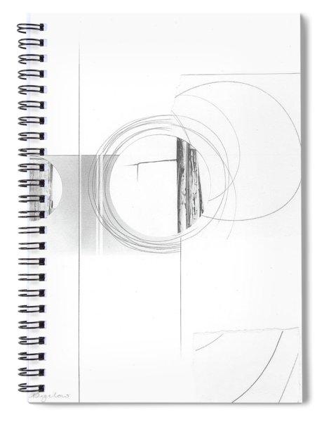 Construction No. 4 Spiral Notebook
