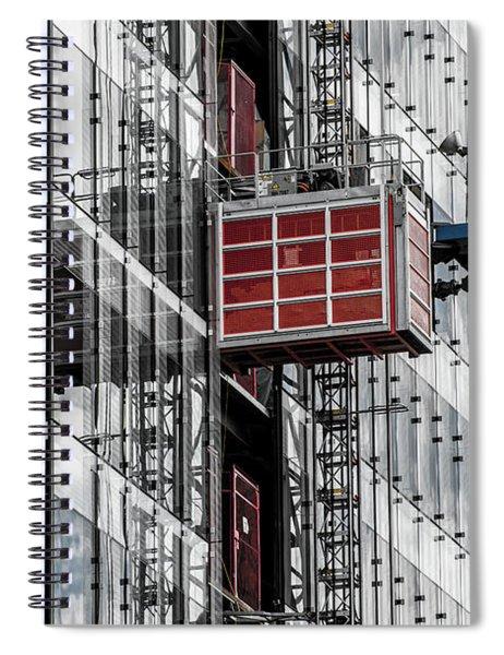 Construction Season Begins - Skyscraper - Utah Spiral Notebook