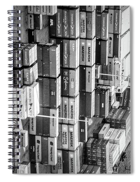 Container Library Spiral Notebook