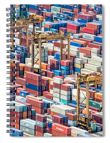 Containers Spiral Notebook