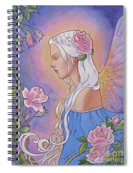 Contemplation Of Beauty Spiral Notebook