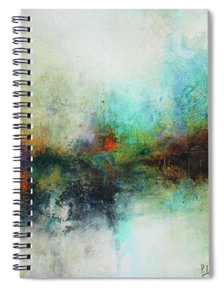 Contemporary Abstract Art Painting Spiral Notebook