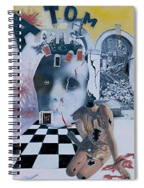 Contrast Spiral Notebook