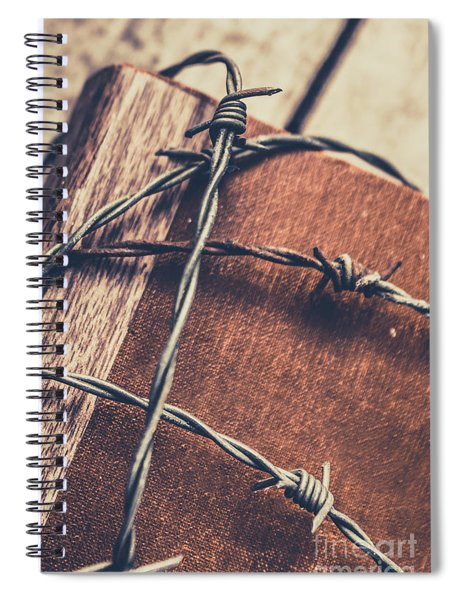 Control And Confidentiality Spiral Notebook